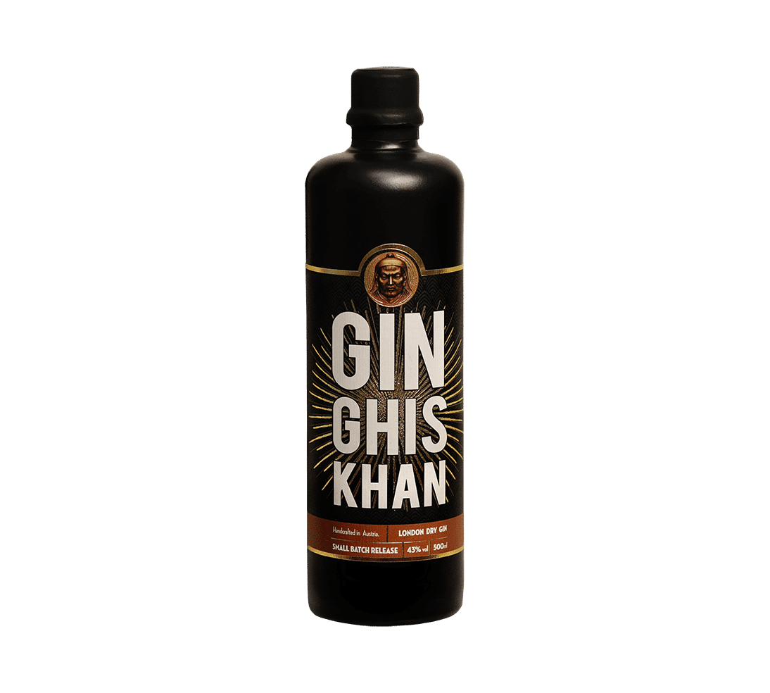 GIN GHIS KHAN Single Bottle